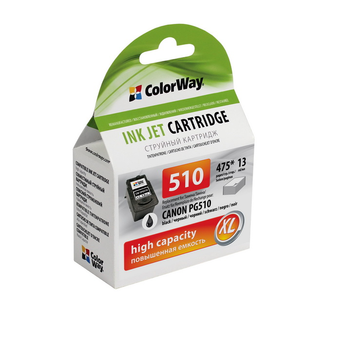 CW Canon PG510XL Black 13ml