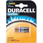 Duracell LR61/AAAA Ultra Power (Mini - MN2500) - alkalická batéria, 1,5 V, 2ks blister