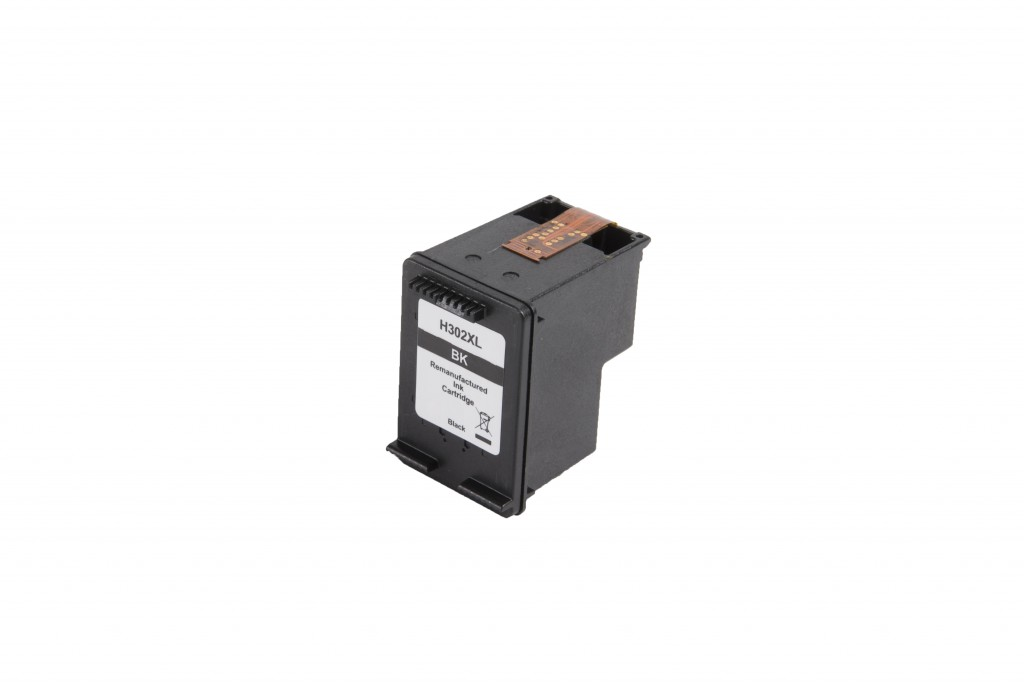 HP 302XL Black - F6U68AE renovovaný cartridge 15ml (BULK)