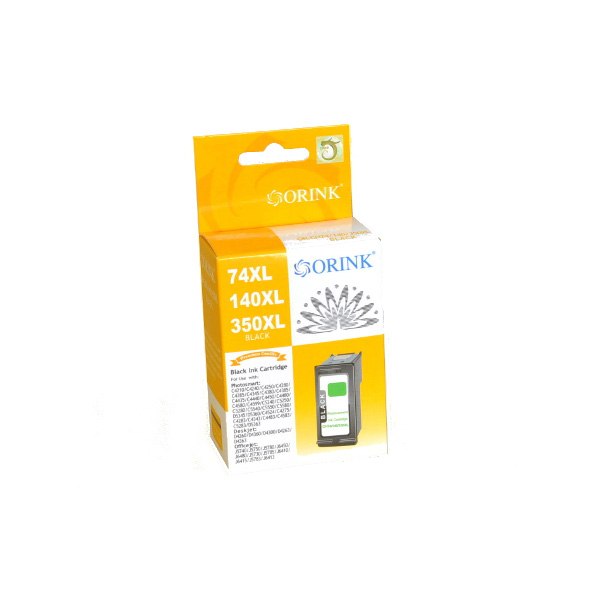 HP 350XL Black - CB336EE kompatibilný cartridge 24ml