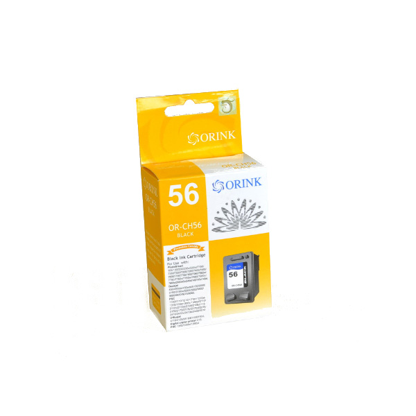 HP 56 Black - C6656AE kompatibilný cartridge - 22ml