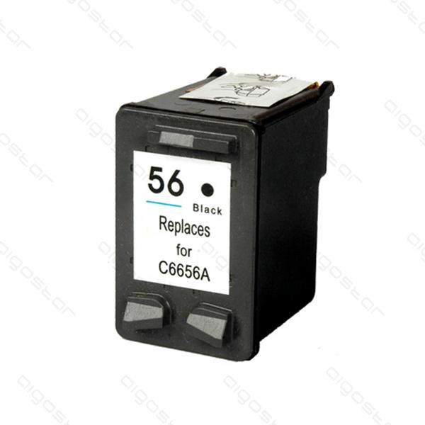 HP C6656A (No.56) Black renovovaný cartridge 21ml