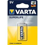 Varta Zinc-Carbon batéria, 6LR61 Hi-voltage 9V, superlife